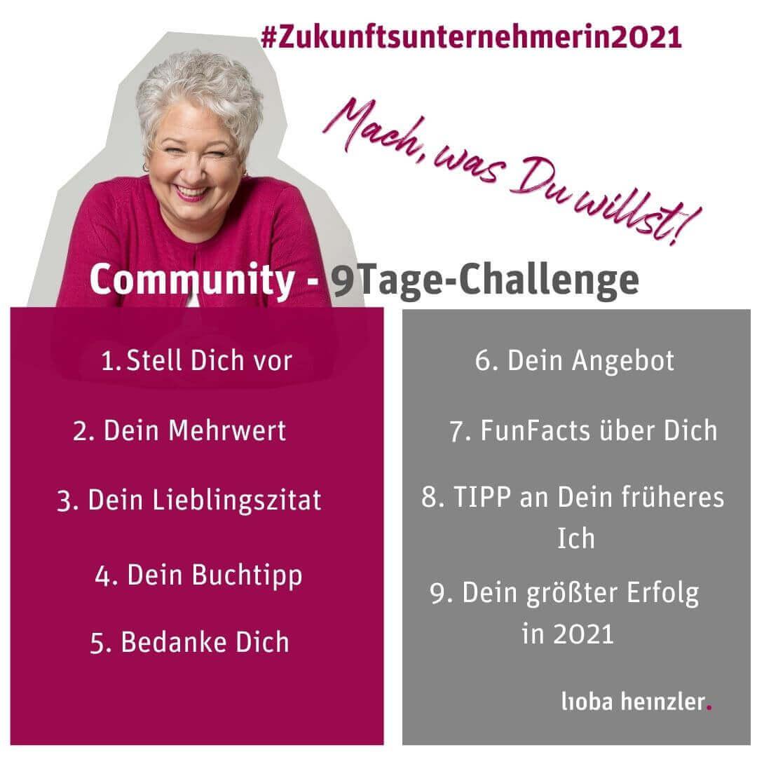 Community Zukunftsunternehmerin