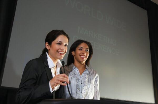 Vortrag von Frauen