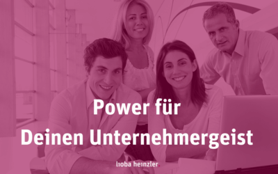 [023] Power für Deinen Unternehmergeist