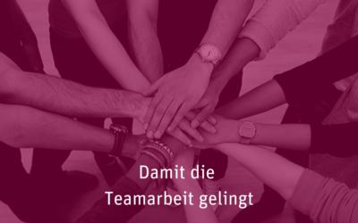 [017] Damit die Teamarbeit gelingt